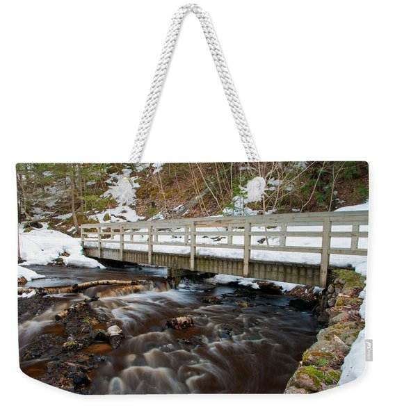 Spring Hike  Weekender Tote Bag