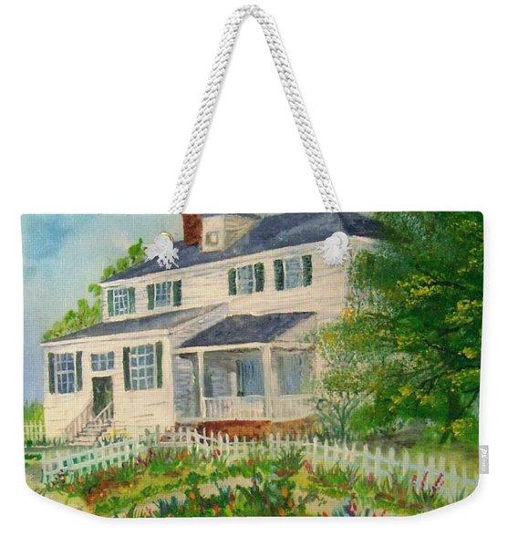Spring In Colonial Williamsburg- Cole House Weekender Tote Bag