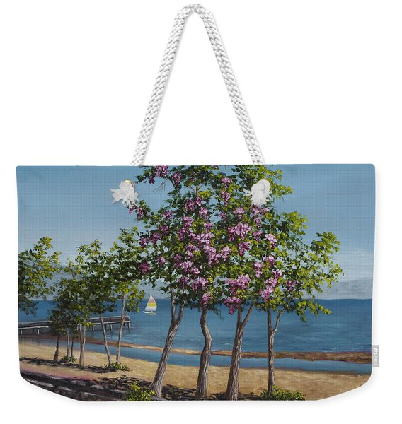 Spring In Kings Beach Lake Tahoe Weekender Tote Bag