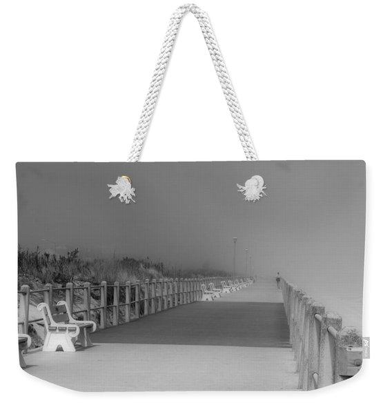 Spring Lake Boardwalk - Jersey Shore Weekender Tote Bag