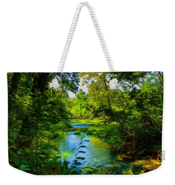 Spring Of Wonderment Weekender Tote Bag