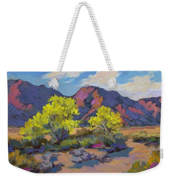 Spring Palo Verde Weekender Tote Bag