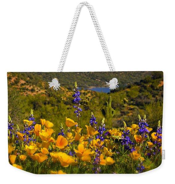 Spring Southwest Style  Weekender Tote Bag