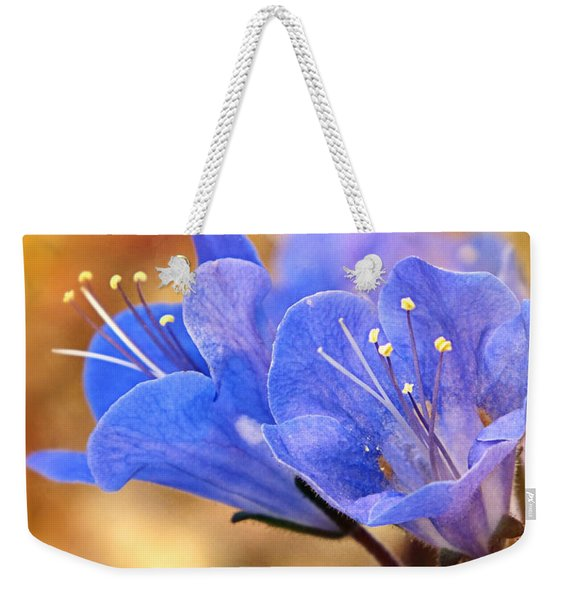 Spring Wildflowers - The Desert Bluebells Weekender Tote Bag
