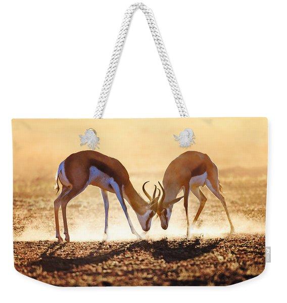 Springbok Dual In Dust Weekender Tote Bag
