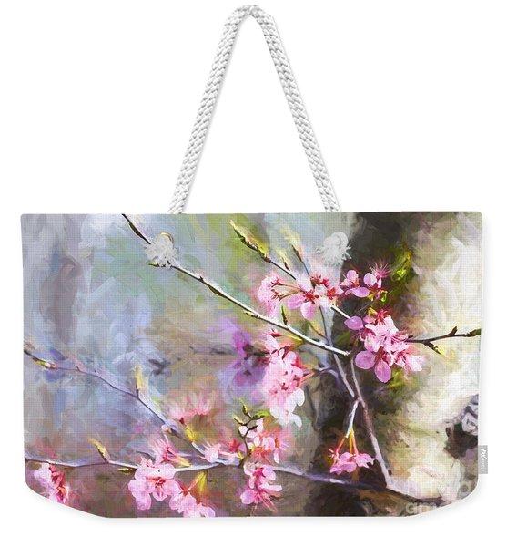 Spring's Awaited Color Weekender Tote Bag