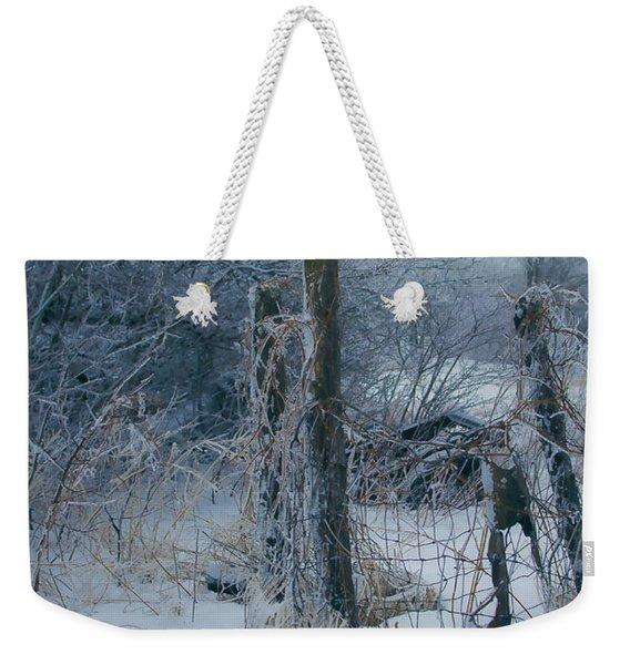 Springtime Icestorm Weekender Tote Bag