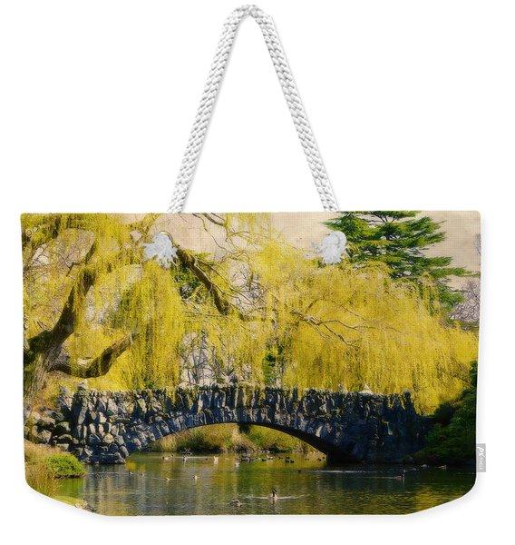 Springtime In Victoria Weekender Tote Bag