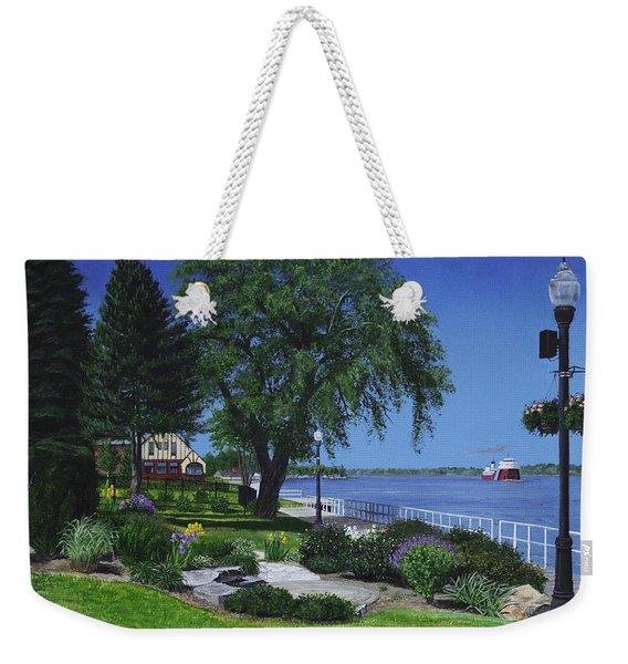 Springtime On The Boardwalk Weekender Tote Bag