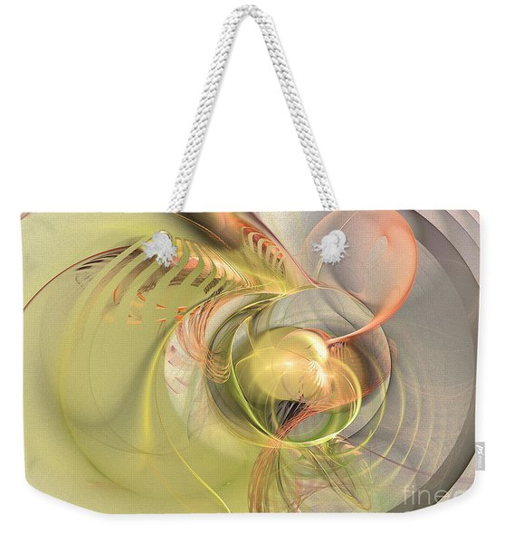 Sprouting Up - Abstract Art Weekender Tote Bag