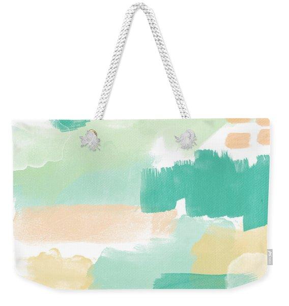 Spumoni- Abstract Painting Weekender Tote Bag