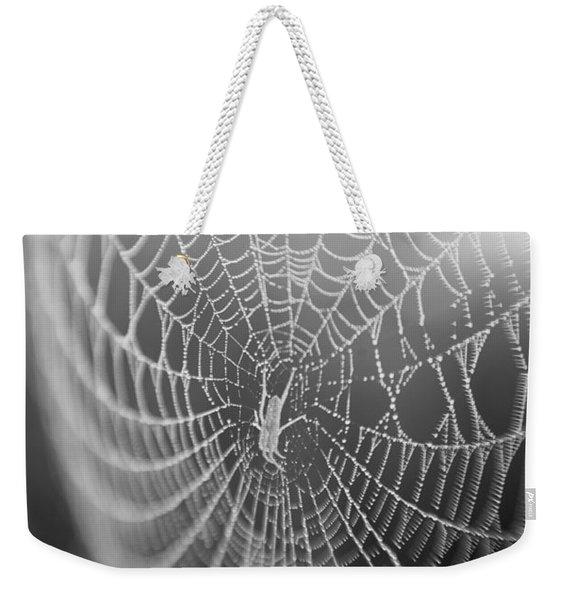 Spyder Web Weekender Tote Bag