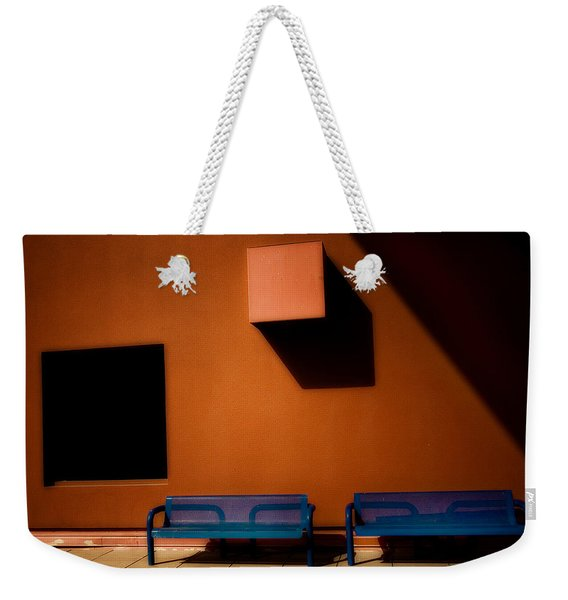 Square Shadows Weekender Tote Bag