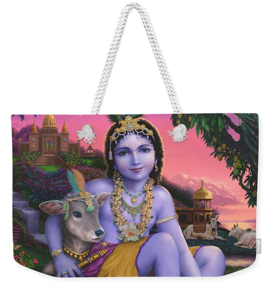 Sri Krishnachandra Weekender Tote Bag