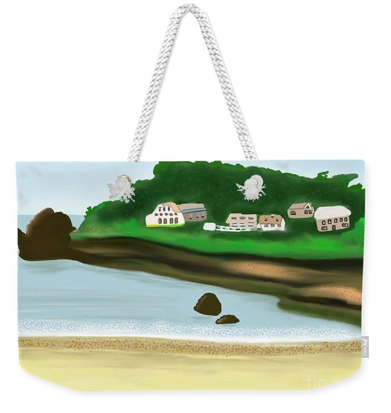 A Peaceful Life  Weekender Tote Bag