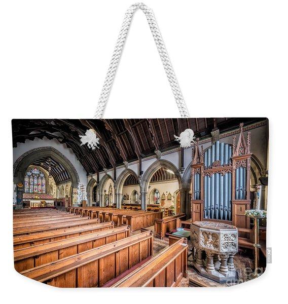 St David Church Weekender Tote Bag