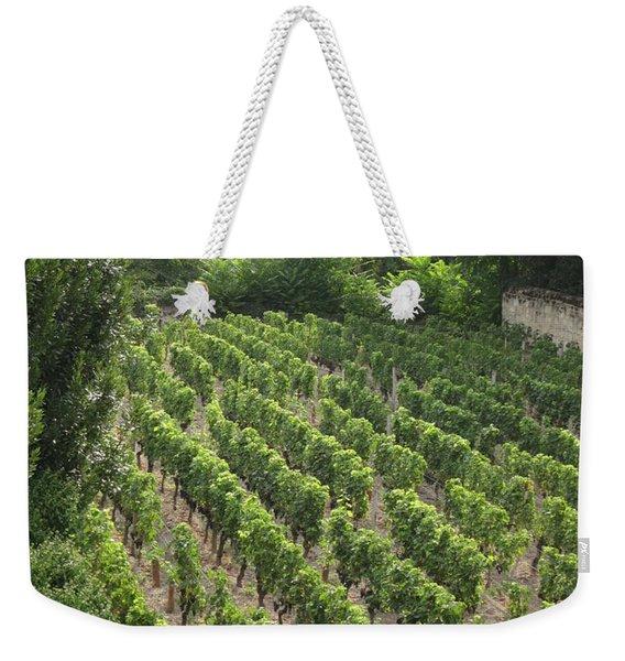 St. Emilion Vineyard Weekender Tote Bag