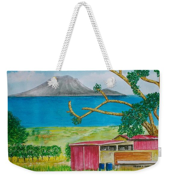 St. Eustatis From St. Kitts Weekender Tote Bag