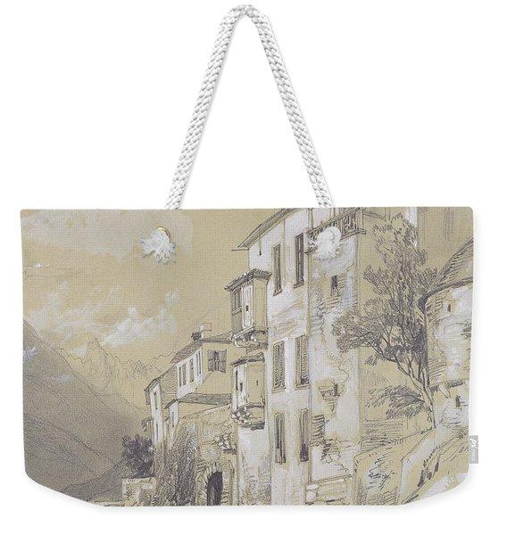 St Giulio Orta Weekender Tote Bag