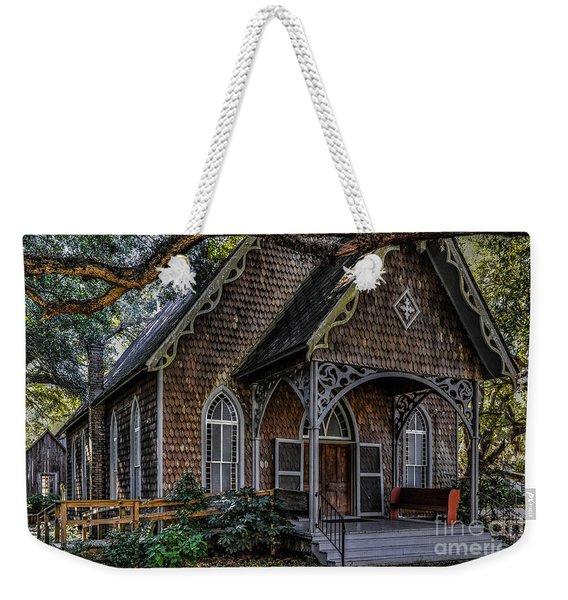 St. James Episcopal Church In Mccellanville Sc Weekender Tote Bag