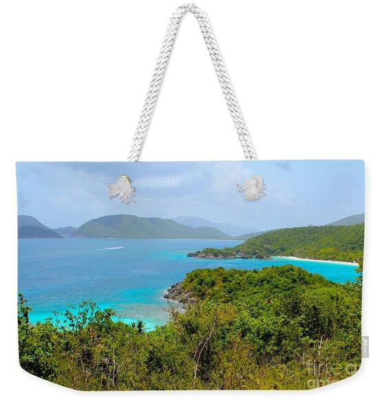 St John Beaches Weekender Tote Bag