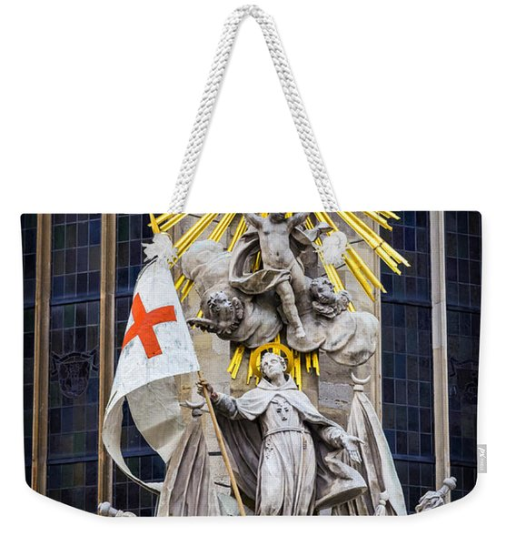 St. John Of Capistrano In Vienna Weekender Tote Bag