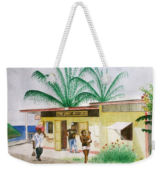 St. Lucia Store Weekender Tote Bag