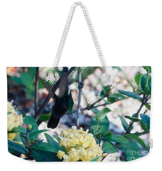 St. Lucian Hummingbird Weekender Tote Bag