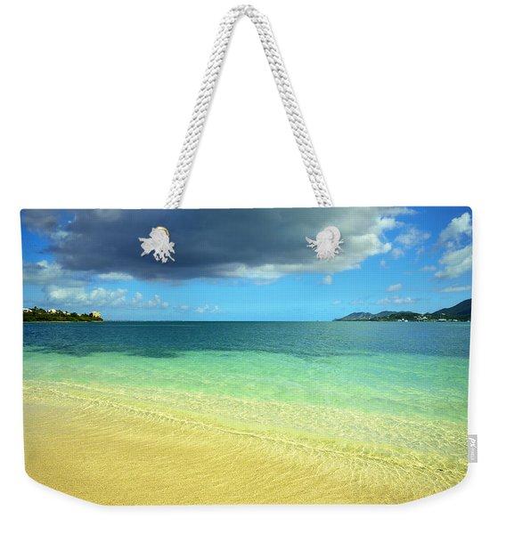 St. Maarten Tropical Paradise Weekender Tote Bag