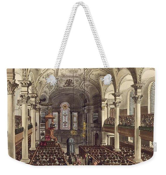 St Martins In The Fields Weekender Tote Bag