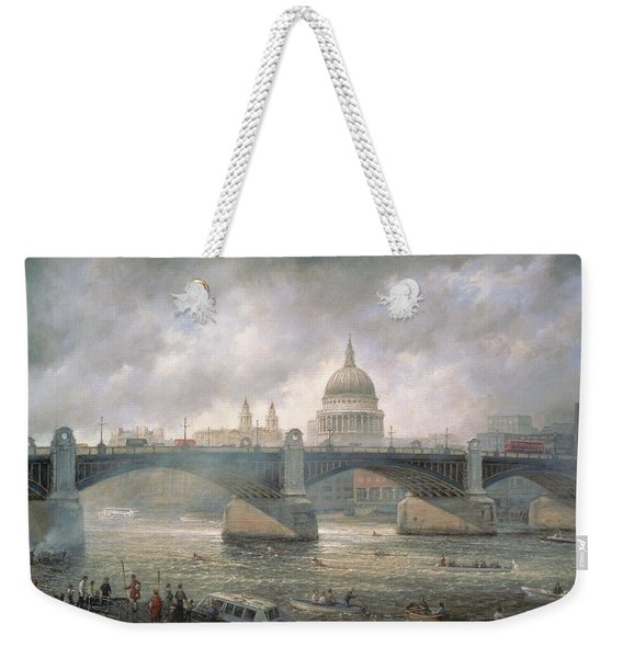 St. Paul's Cathedral From The Southwark Bank Weekender Tote Bag