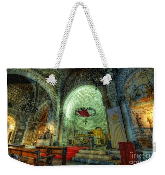 St Pere De Puelles Church - Barcelona Weekender Tote Bag
