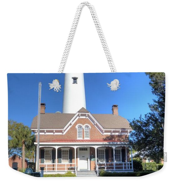 St. Simons Island Light Station Weekender Tote Bag