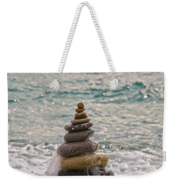 Stacking Stones Weekender Tote Bag
