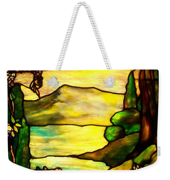 Stained Landscape 2 Weekender Tote Bag