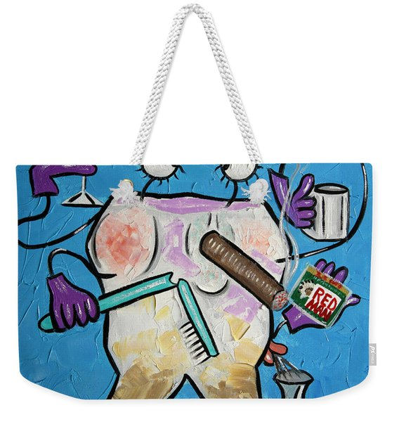 Stained Tooth Weekender Tote Bag