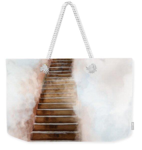 Stair Way To Heaven Weekender Tote Bag