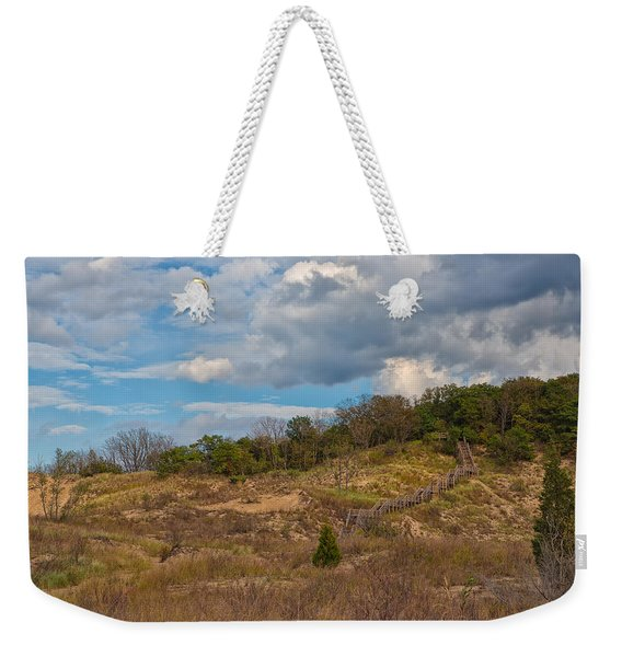 Stairway Of The Dunes Weekender Tote Bag