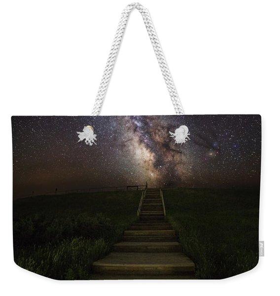 Stairway To The Galaxy Weekender Tote Bag
