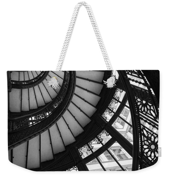 Stairwell The Rookery Chicago Il Weekender Tote Bag