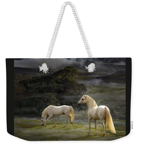 Stallions Of The Gods Weekender Tote Bag
