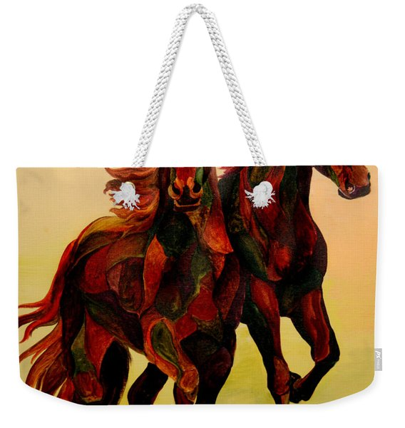 Stallions Weekender Tote Bag