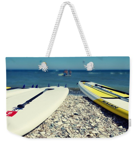 Stand Up Paddle Boards Weekender Tote Bag