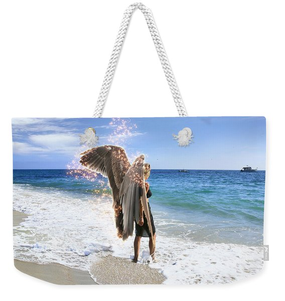 Stand Your Ground I Am With You Weekender Tote Bag