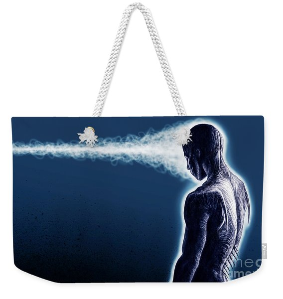 Standing Still Thoughts Proceeding Weekender Tote Bag