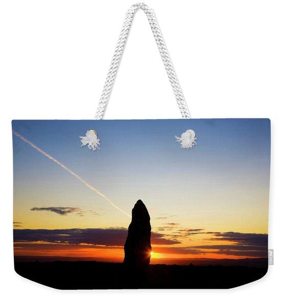 Standing Stone, Monavullagh Mountains Weekender Tote Bag