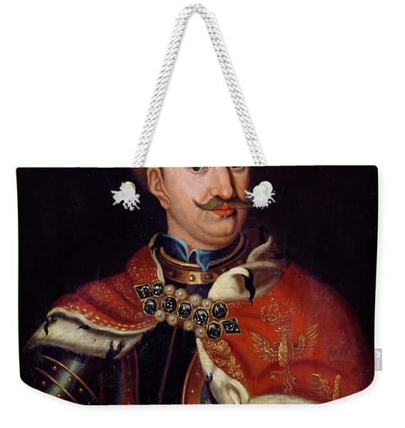 Stanislaw I Leszczynski 1677-1766 Oil On Canvas Weekender Tote Bag