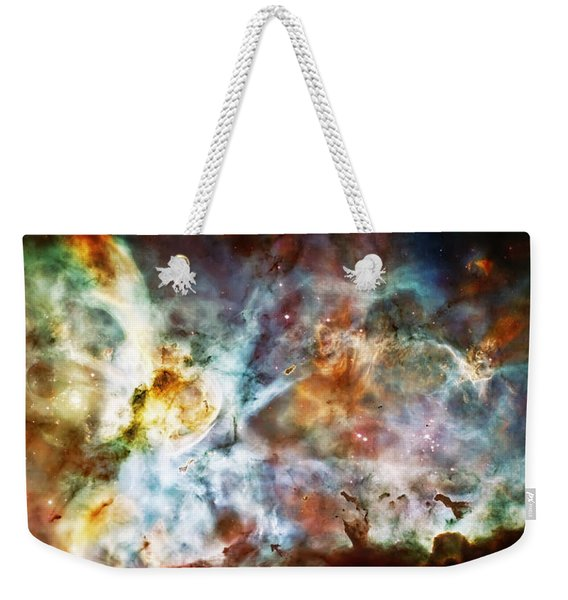 Star Birth In The Carina Nebula  Weekender Tote Bag