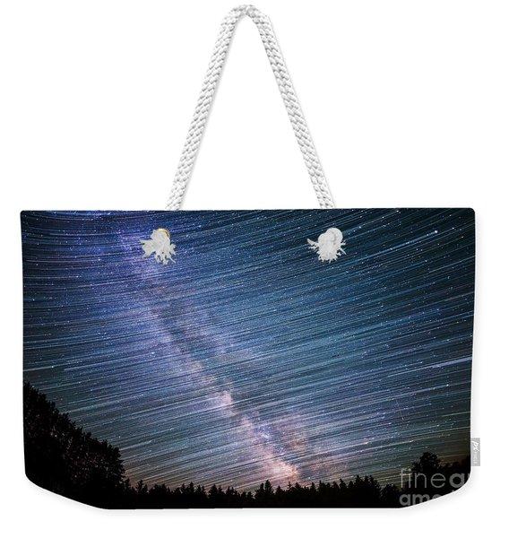Star Dust Weekender Tote Bag