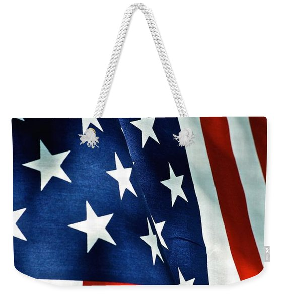 Star-spangled Banner Weekender Tote Bag